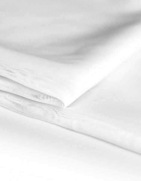 Voile Dekostoff weiß 310cm breit | Trevira CS | 100% Polyester 45g/m² B1