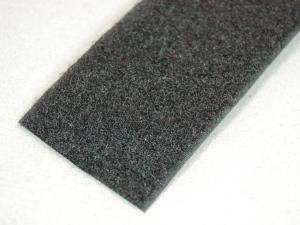 Klettband Flausch nähb sw 50 mm 25 m