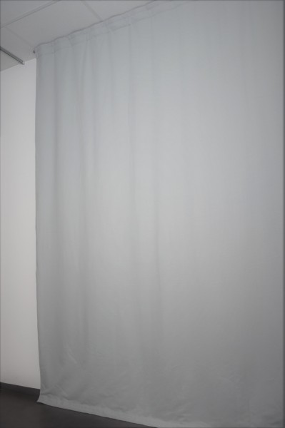 Akustikvorhang SF1400 - 1400g/m² B1 38% Dämpfung - 13 Farben mit Ösen