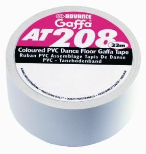 Tanzbodenband AT 208 weiss