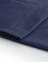Satin Molton 320g/m dunkelblau B1 300cm breit
