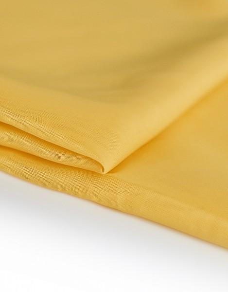 Voile Dekostoff sonnengelb 310cm breit | Trevira CS | 100% Polyester 45g/m² B1