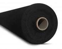 Dekomolton 130g/m² schwarz B1 260cm breit | Rolle 50m