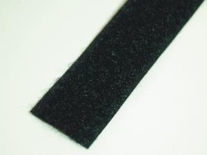 Klettband Flausch nähb sw 20 mm 25 m