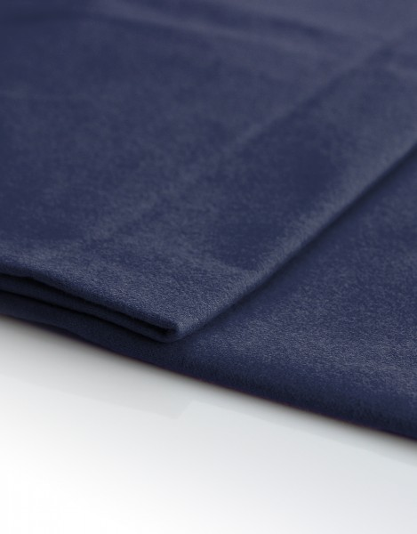 Satin Molton 300cm breit , dunkelblau