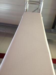 Traversenverkleidung weiß oder farbig bis 1,20 Umfang