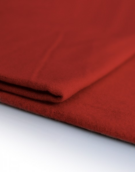 Dekomolton 165g/m², rot, 300cm breit