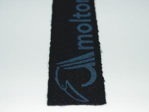 Gurtband Leinen 40 mm B 1 schwarz