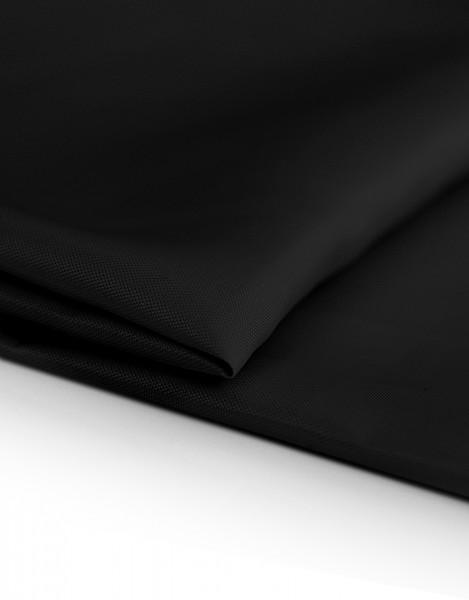 Kristall Dekostoff schwarz 300cm breit | 100% Polyester 85g/m² B1