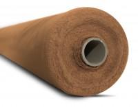 Dekomolton 130g/m² caramel B1 260cm breit | Rolle 50m