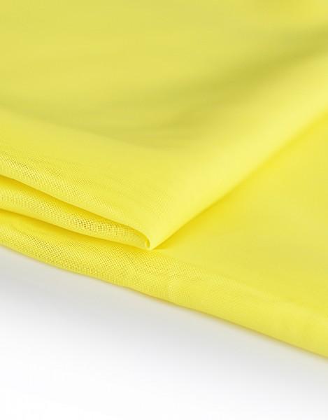 Voile Dekostoff gelb 310cm breit | Trevira CS | 100% Polyester 45g/m² B1