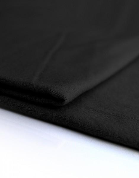Dekomolton 165g/m² schwarz B1 300cm breit