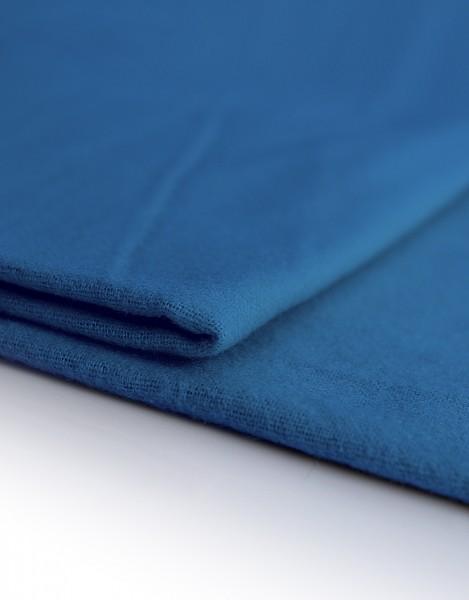 Dekomolton 165g/m² blau B1 300cm breit